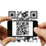 Scan the QRLost code with your mobile